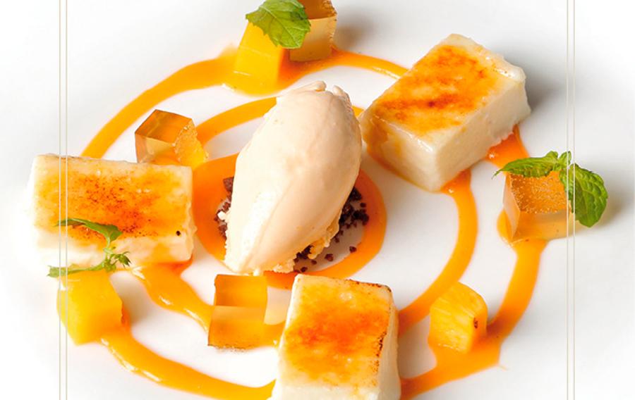 Receta – Melocotón, queso y miel